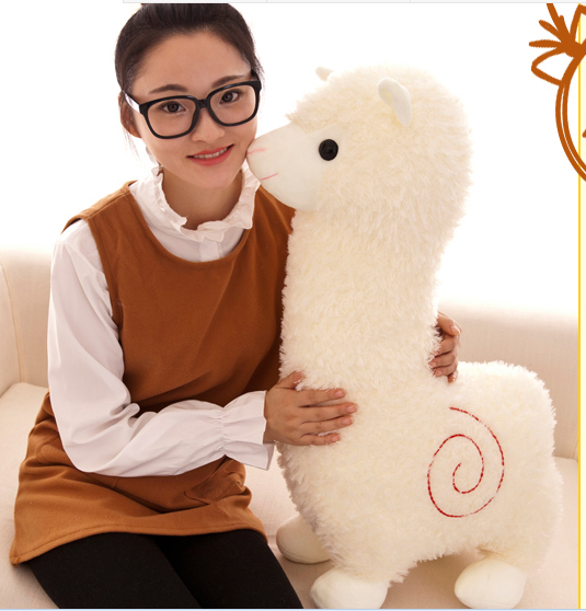 big plush sheep toy God beast doll white alpaca toy gift about 70cm plush jesus christ toy jehovah christian doll lord god