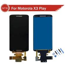 Reemplazo para motorola moto x play para moto x3 xt1562 pantalla lcd con el digitizador assembly + herramientas envío libre