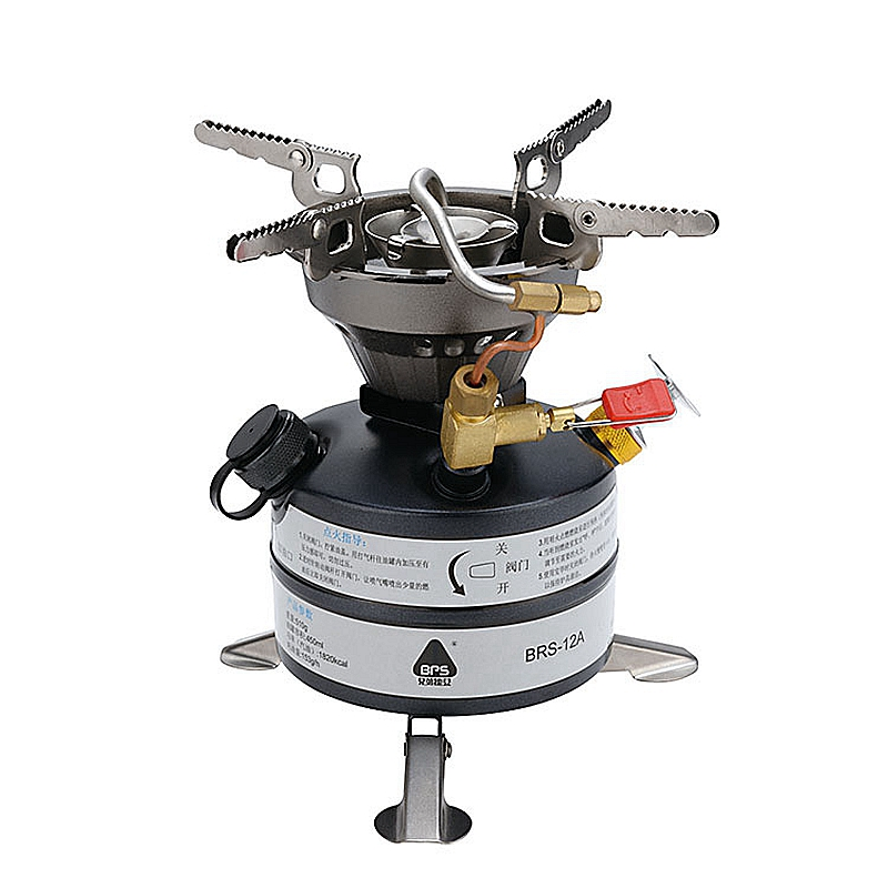 Mini Liquid Fuel Oil Camping Gasoline Stoves Portable Outdoor Kerosene Stove Cooker Picnic Cookout Hiking Equipment Butane Blaze mini portable butane stove for outdoor travel camping picnic silver black page 2 page 4