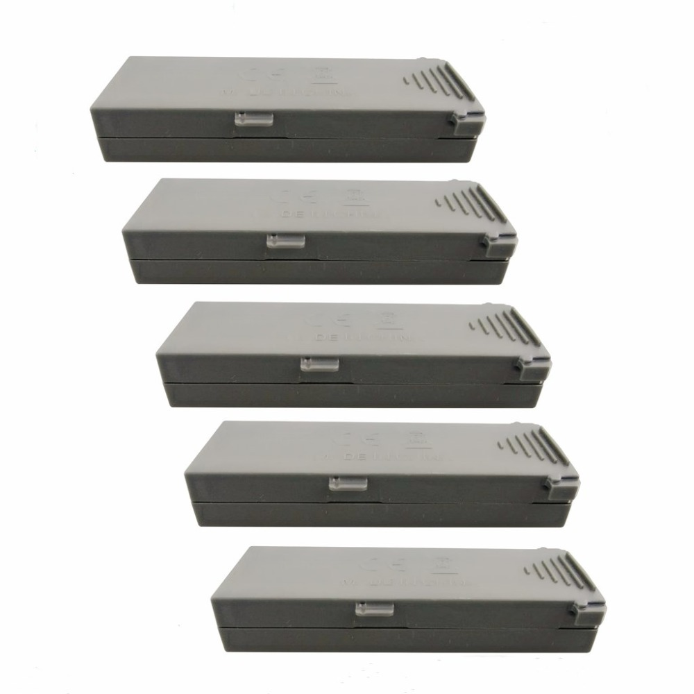 5cps 3,7 В 800 мАч литиевая батарея YD XT-1 HD Антенна складной Дрон оригинальный аккумулятор-серый