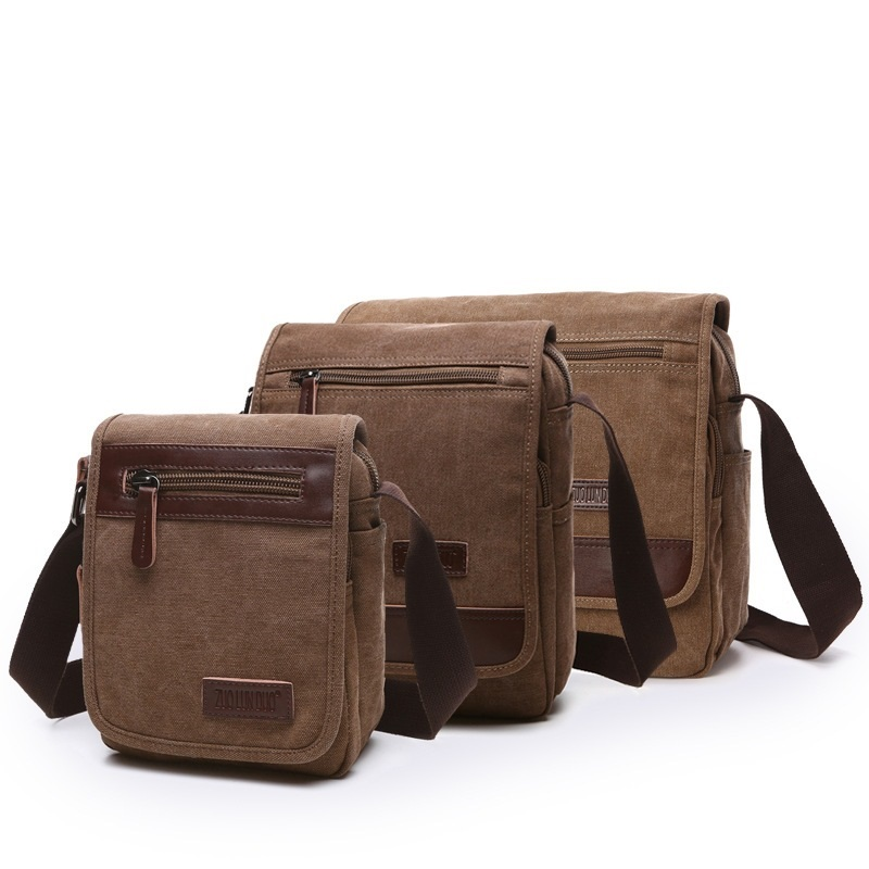 B29 Hot! Brand High Quality Men Canvas Bag Casual Travel Bolsa Masculina Men's Crossbody Bag Men Messenger Bags Large Capacity