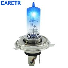 CARCTR 1 пара галогенная лампа H1 лампа H3 55 Вт 12 В кварцевое стекло дальнего и ближнего света супер яркие Автомобильные фары галогеновые лампочки 90047
