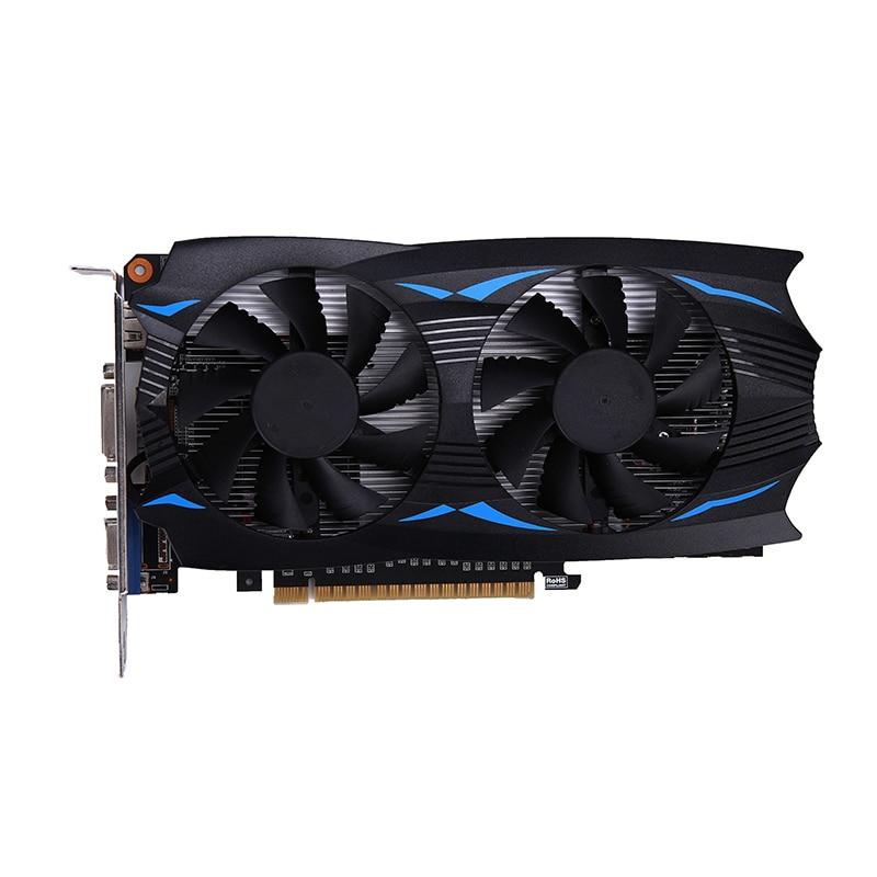Pour GeForce GTX 750TI 4 GB D5 pour carte graphique NVIDIA GTX750Ti 4 GB GDDR5 128Bit PCI-E X16 3.0 ordinateur de bureau jeu cartes vidéo