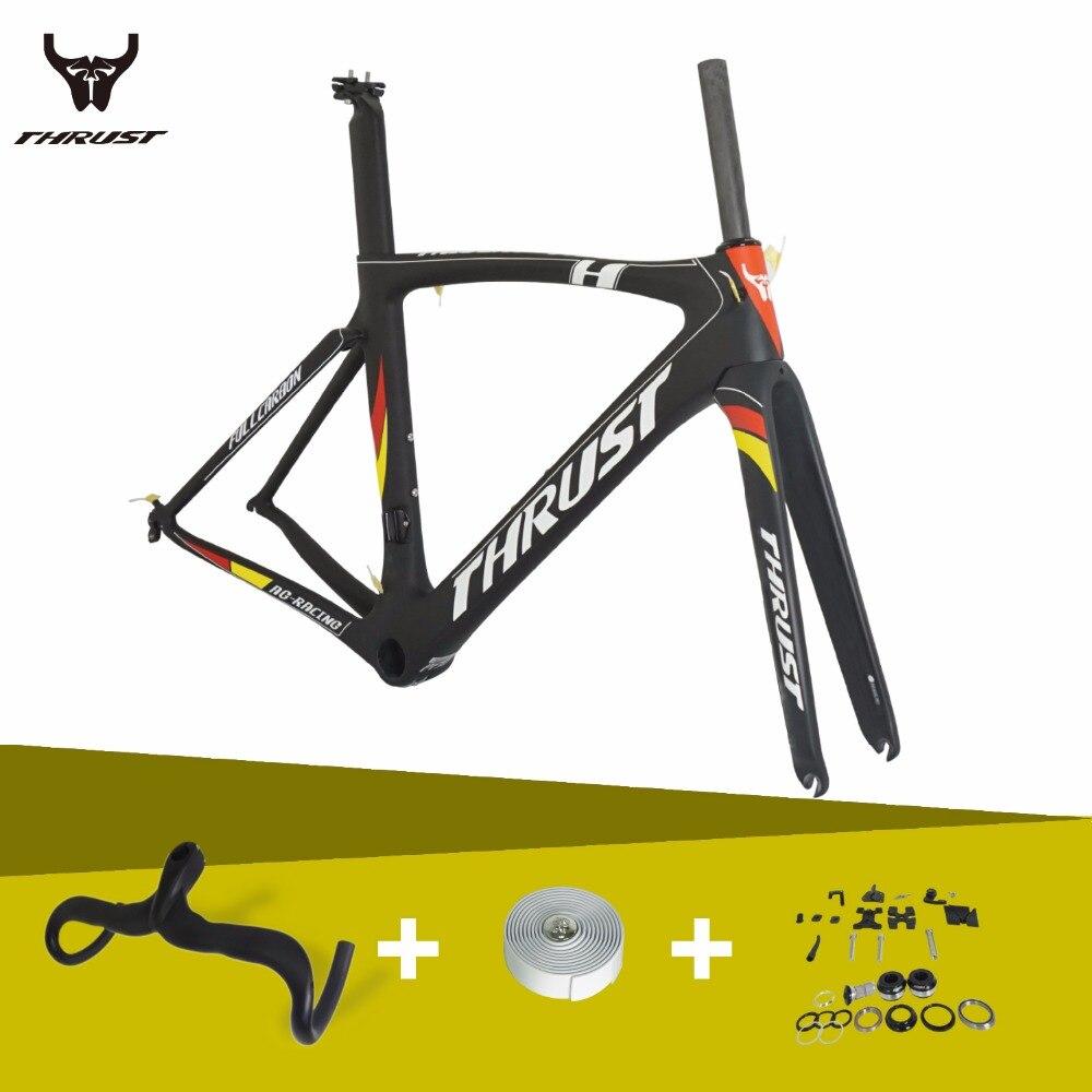 2016 THRUST AG-RACING Di2 Full Carbon Fiber Road Bicycle Frame PF30  ,Carbon Frame size 49cm,50cm,52cm,54cm,56cm,58cm