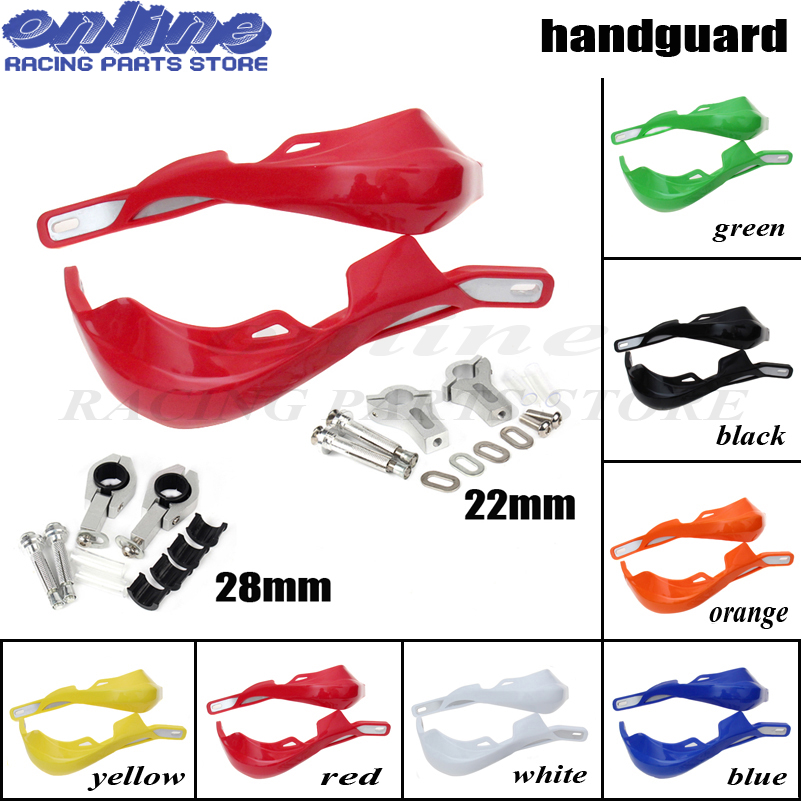 Motorbike Handguards Handlebar Hand Guards Motorcycle Motocross Dirt Pit Bike Off Road For KTM CRF YZF