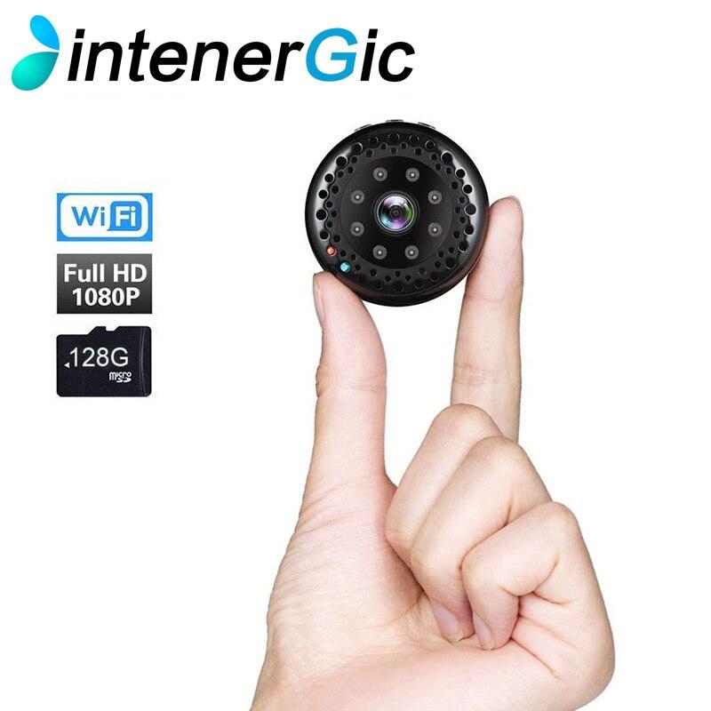 2018 nouveau super HD 1080 p Mini Wifi Caméra 170 degrés grand angle IR Night Vision Cam Surveillance IP Caméra d'alarme à distance