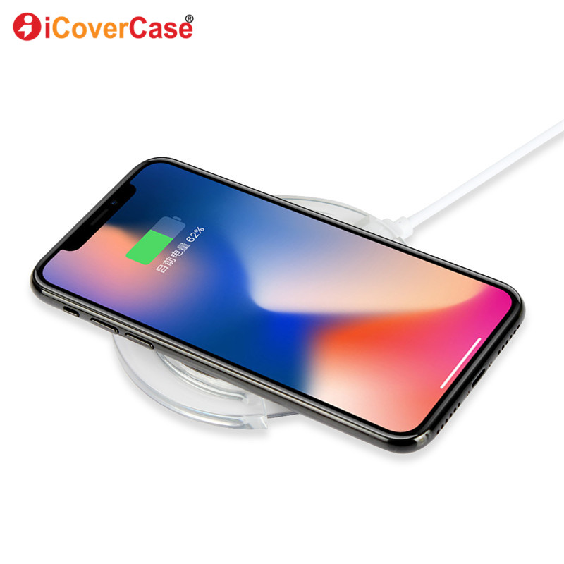 US $10 92 20% OFF|Qi Wireless Charger Power Pad For Huawei P20 Lite P 20  Pro Power Bank Wireless Charging Receiver and Cover Case Hoesje Funda  Bag-in