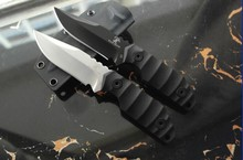 TRSKT Black Dragon Hunting knives Fixed Blade Camping knife Outdoor ,D2 Steel ,G-10 Handle Outdoor EDC Tool Gift Knife Survival