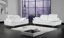 Free Shipping 2013 Design 1+2+3 sofa cattle leather Sofa set sectional leather sofa set living room furniture LA067