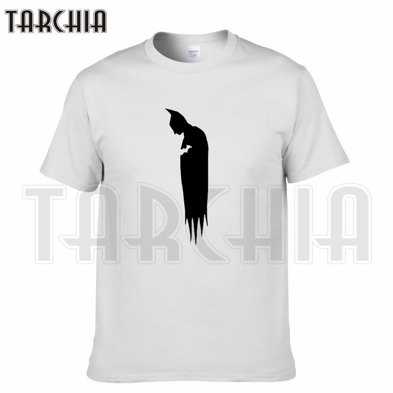 TARCHIA 2018 new summer brand t-shirt cotton movie Batman tops tees men short sleeve boy casual homme tshirt t plus fashion