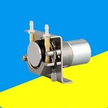 Перистальтический насос дозирующий насос DC трубки для двигателя Шланг насос аквариумная лаборатория