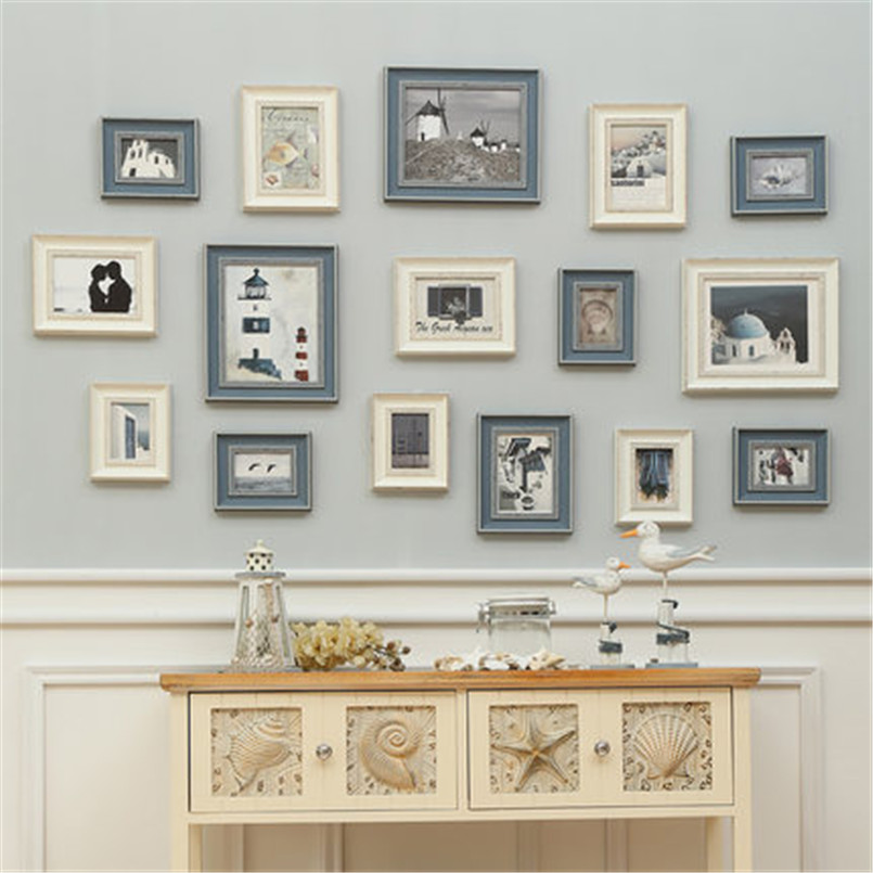 Rhinestone picture frames European style bedroom creative ...