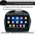 """10.2 """"Android 4.44 Автомобиль Без Dvd-плеер Gps для Hyundai ix35 с Bluetooth AM Fm-радио плеер Поддержка Wi-Fi Мобильный Телефон Mirro Ссылку"""