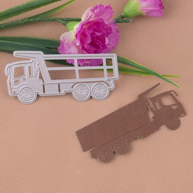1 шт. из металла большой грузовик круг для резки металла умирает трафареты DIY Декор для Записки diray альбом тиснение живопись металлу.
