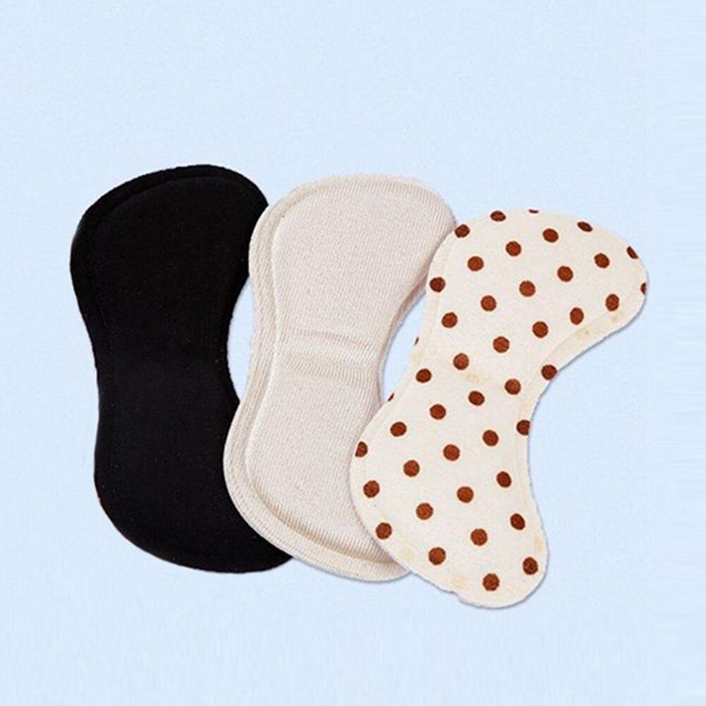 1 Paar 4d Weiche Memory Foam Fuß Pflege Werkzeug Neue Sticky Stoff Schuh Zurück Ferse Einsätze Einlegesohlen Pads Kissen Liner Grip Pad #2 GläNzend