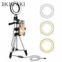 Selfie Video Ring Light Photo LED Lamp studio Ring selfie light for Video YouTube Photo Ringlight Makeup Light with Holder ring