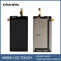 Original Display For Philips Xenium W6500 LCD Screen With Touch Sensor Digitizer Assembly Replacement Brand New Black Color