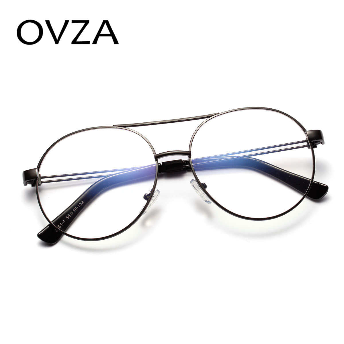 OVZA Retro Glasses Frames Women Fashion Metal Reading Glasses Men ...