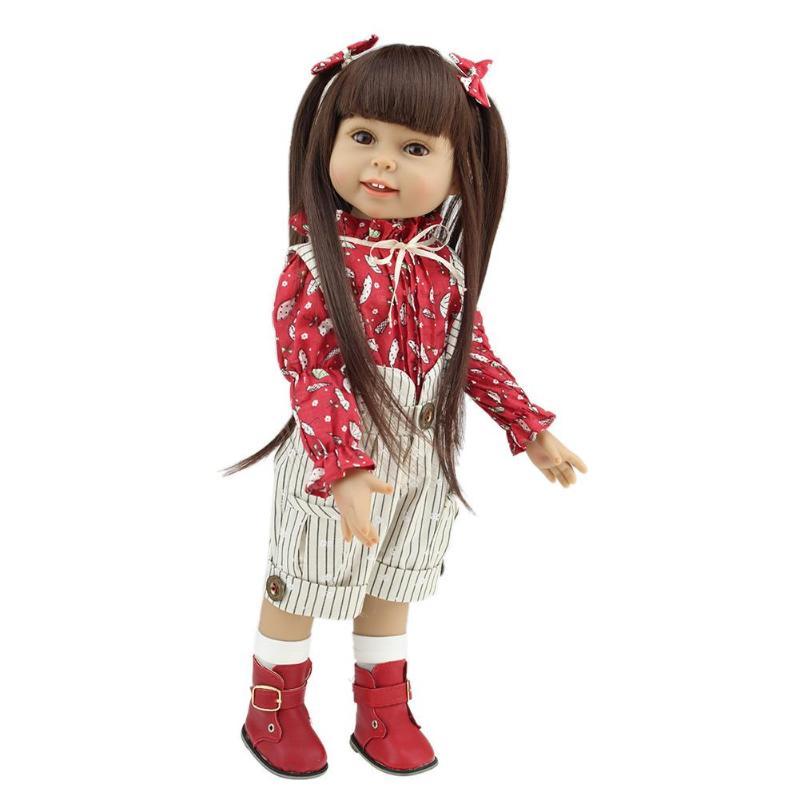 18inch NPK Simulate Reborn Girl Baby Plastic Doll Kids Sleep Playmate Toys18inch NPK Simulate Reborn Girl Baby Plastic Doll Kids Sleep Playmate Toys
