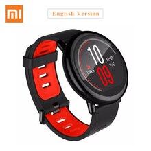 Оригинальный Xiaomi huami часы Amazfit темп Bluetooth 4.0 спортивные Смарт-часы циркониевой керамики монитор сердечного ритма Wi-Fi Andrio iso