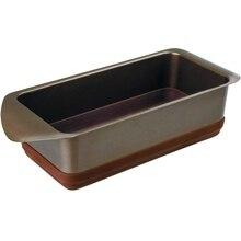 Форма для запекания Rondell MoccoLatte RDF 10x20 cm-441 (Углеродистая сталь и силикон, антипригарное покрытие, размер 100x200 мм, подходит для посудомоечной машины)