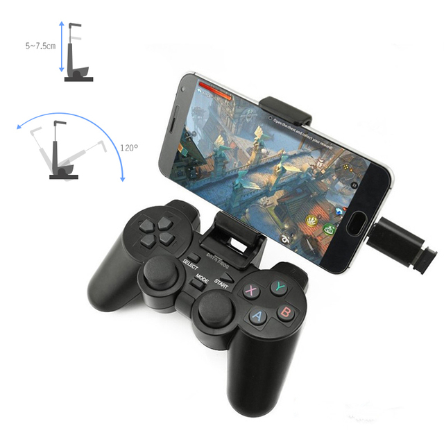 Data Frog 2.4 G Android Gamepad Compatible With PC Windows PS3 TV Box Android Smartphone Game Joystick