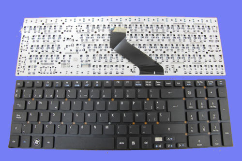 New notebook Laptop keyboard for Acer Aspire E1-510 E1-510P  SP  layout spanish keyboard for acer aspire 5745 5749 5800 5820 7235 7250 7251 7331 7336 7339 7535 sn7105a nsk alc0r sp laptop keyboard