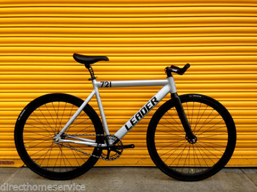 Leader 721 700c Fixed Gear Fixie Track Single Speed Bike 53cm