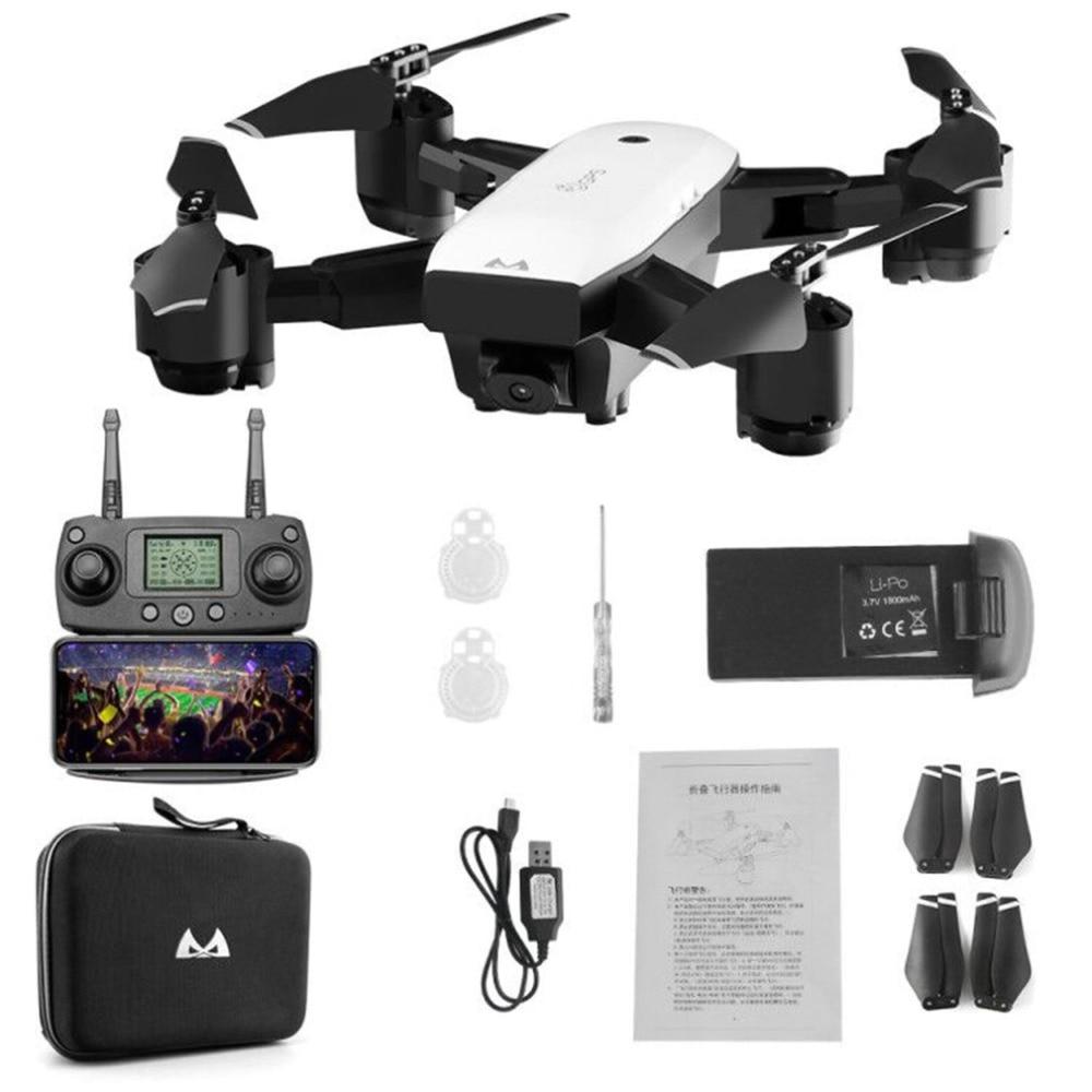 SMRC S20 6 essieux Gyro Mini GPS Drone avec 110 degrés grand Angle 1080 P caméra 2.4G maintien d'altitude RC quadrirotor hélicoptère modèle