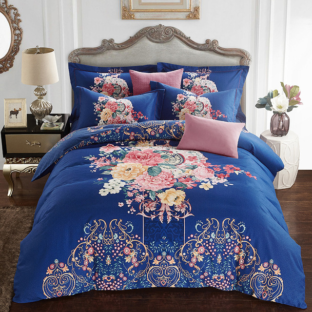 Funda Nordica King Size.Us 145 0 Funda Nordica Bedding Set Cotton Bed Covers Duvet Cover Queen King Size 1 Luxury Quilt Cover 1 Cotton Flat Sheets 2 Pillowcase In Bedding