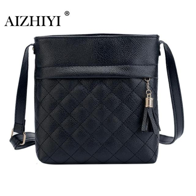 Women Shoulder Bags PU Leather Handbags Female Famous Brands Girls Tassel Messenger  Bags Fashion Mini Bolsa Feminina 248d9f407ab0a