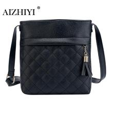Female Crossbody Bags PU Leather Handbags Women Famous Brands Tassel Messenger Bags Fashion Mini Crossbody Shoulder