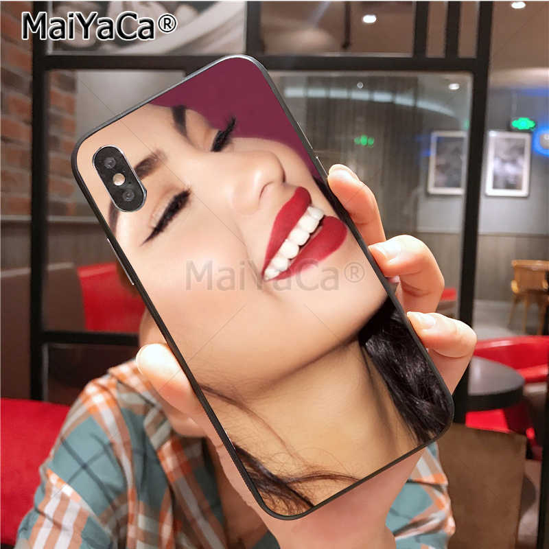 4be6f84306802 ... MaiYaCa selena quintanilla Ultra Thin Cartoon Pattern soft tpu Phone  Case for iPhone 6S 6plus 7 ...