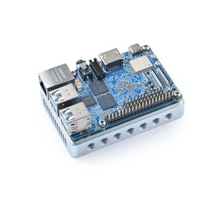 Image 4 - FriendlyElec NanoPi M4 2GB/4GB DDR3 Rockchip RK3399 SoC 2.4G & 5G dual band WiFi,Support Android 8.1 Ubuntu, AI and deep learn
