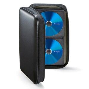 Image 2 - Ymjywl CD Fall Blu ray Disc Box Stoßfest CD Tasche 96 Discs Kapazität Für Auto Reise Lagerung Ausrüstung Box