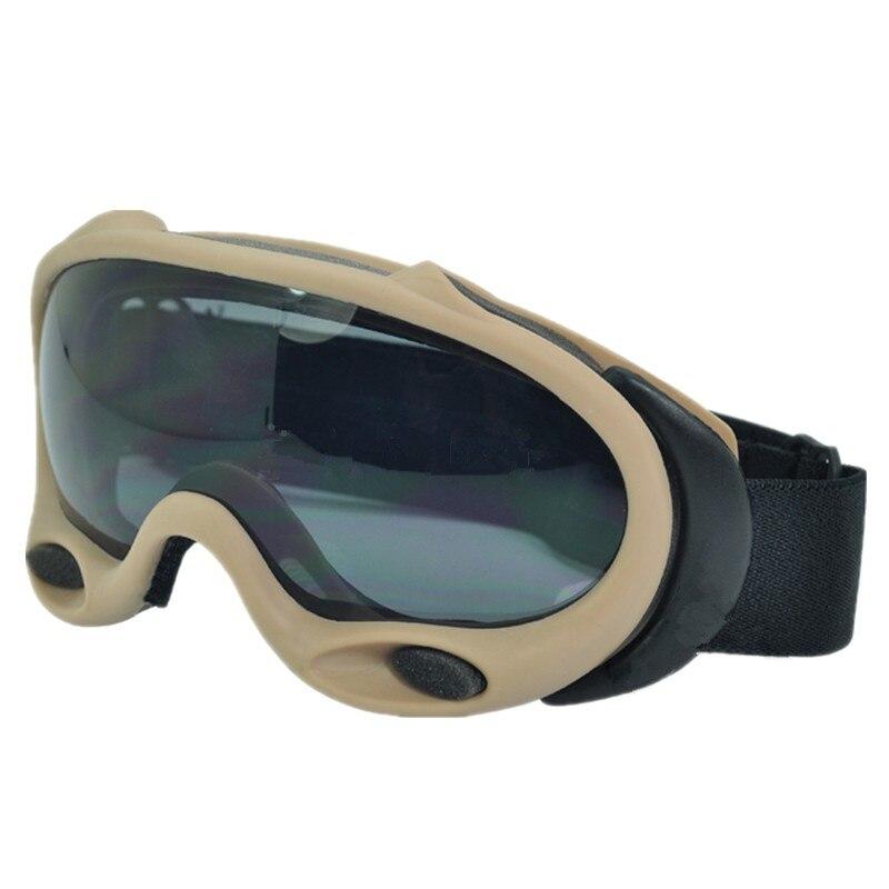 Tactical safety goggle OK ski goggles helps eliminate fogging black and white lenses Black DE pink 958