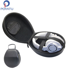 POYATU Headphone Hard Case For Beyerdynamic DT 770 Pro 80 DT 880 Pro DT 990 DTX 910 T90 Headphones Case For Beyerdynamic DT 990