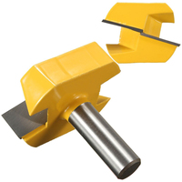 High Grade Carbide Alloy 1 2 Shank 2 1 4 Dia Bottom Cleaning Router Bit Woodworking