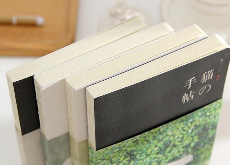 """Купить с кэшбэком """"Flower Cat ver.2"""" Cute Drawing Notebook Blank Papers Notepad Journal Sketchbook Study Diary"""
