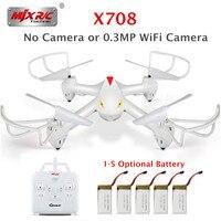 X708 MJX RC Quadcopter Drone VS SYMA X5 X5HW RC Quadrocopter 2.4G 6-axis Gyro RC Helicóptero de Controle Remoto