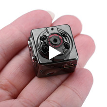 SQ8 SQ 8 Night Vision Small Secret Micro Mini Camera Video Cam Smart 1080p HD Microchamber Microcamera Tiny Miniature Recorder(China)