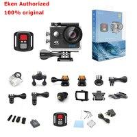 EKEN 4 К действий камеры в исходном EKEN H9/h9r удаленного Ultra HD 4 К Wi-Fi 1080 P 60fps спортивные водонепроницаемый Pro Drone камеры