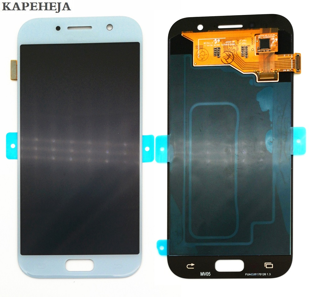 Super AMOLED LCD <font><b>Display</b></font> For <font><b>Samsung</b></font> Galaxy A5 2017 A520 <font><b>A520F</b></font> LCD <font><b>Display</b></font> Touch Screen Digitizer Assembly image