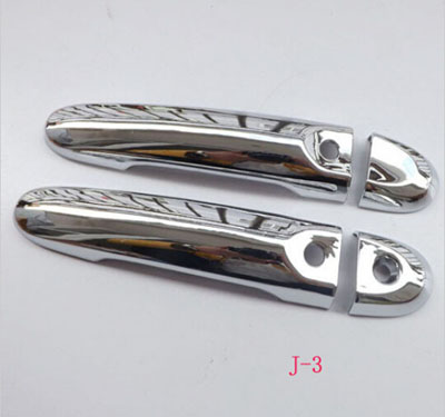 for Nissan Juke 2010-2015 Automobile ABS chrome Door Handle Cover Door Handle straps Car styling stickers accessories 4pcs