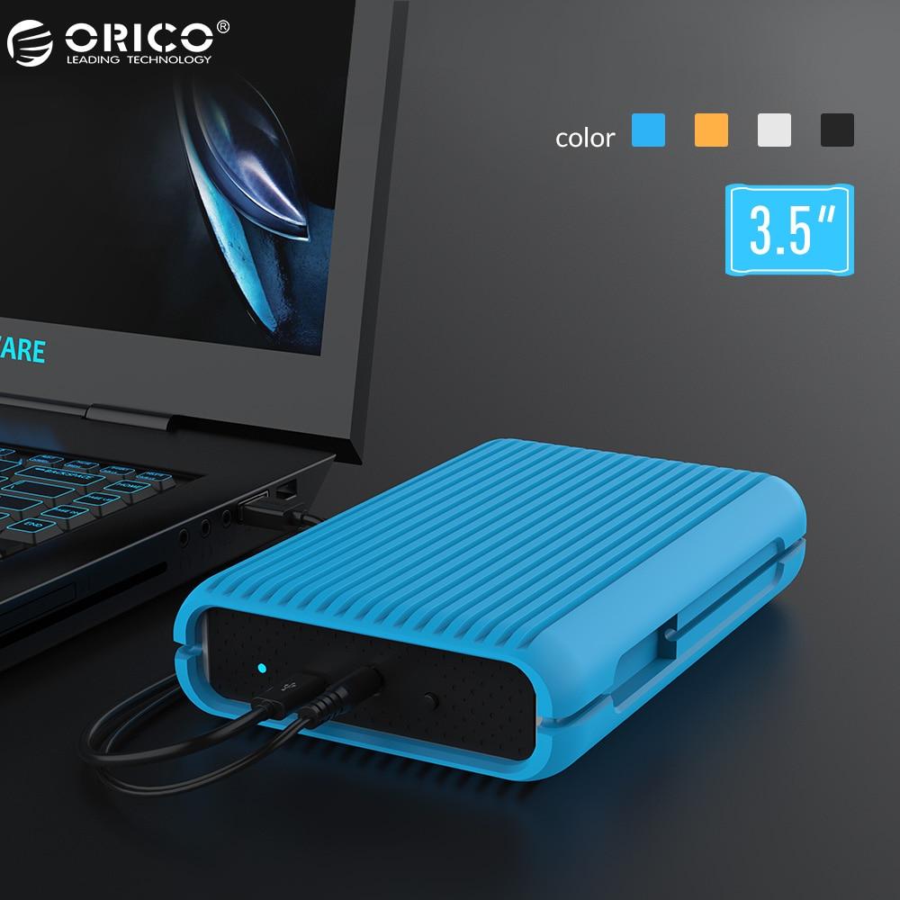 ORICO ms35 1/2/3/4 ТБ USB3.1 Gen2 Type-C 3.5 в 10 Гбит/с, высокая -Скорость противоударный Внешние жёсткие диски HDD Desktop мобильный жесткий диск