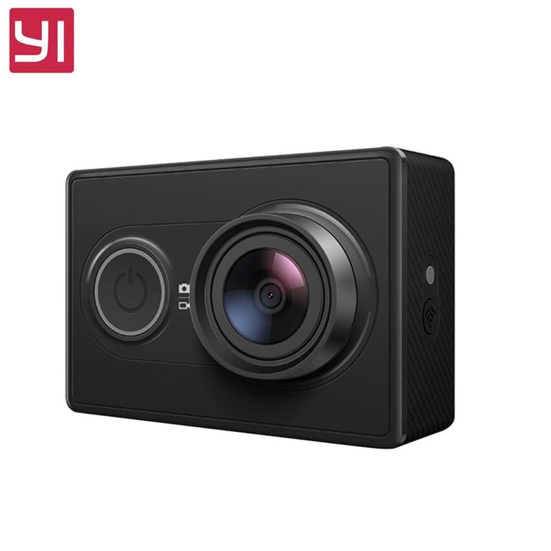 Yi Action Camera international Version Ambarella A7LS 155 1080P WiFi 3D Noise Reduction Original For Xiaomi Sports Camera