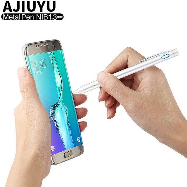 قلم اللمس على الشاشة بالسعة محمول بشاشة لمسية 5 بوصة القلم لسامسونج غالاكسي S8 S9 S10 زائد S10E S7 حافة نوت 8 9 M20 M10 A30 A50