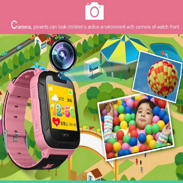 New Q528 Pro 3G GPS Tracker Children Smartwatch Kids WiFi with Tracker SOS Smart watch for IOS Android Smart Watch PK V5W V7W