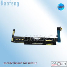 Raofeng  wifi Version 32GB  Unlocked mainboard For ipad mini 1 disassembled Motherboard For Tablet PC  With Chips logic board