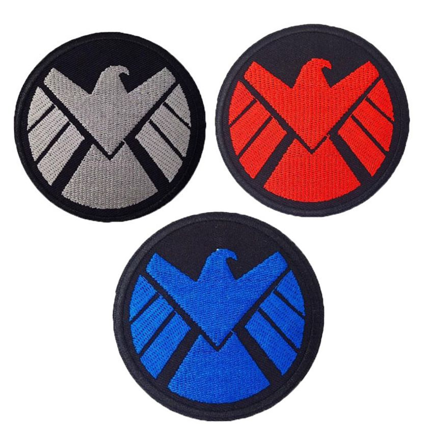 """Recovery Team embroidery patches 4 X 10/"""" and 2x5 hook on back white letters"""